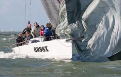 J/88 sailing Hamble Winter Series