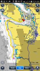 Oregon Offshore race course