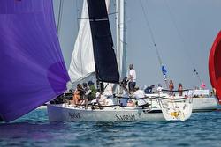J/88 sailing Round Island Race