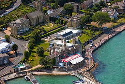 Royal Yacht Squadron, Cowes, Isle of Wight, England
