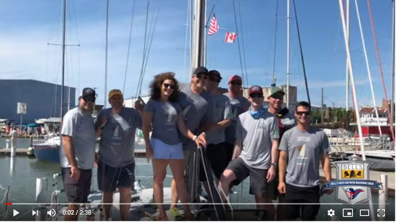 J/34 IOR Knee Deep Mac Race video highlights