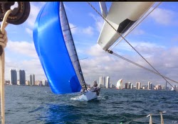 J/125 sailing Lauderdale Key West Race