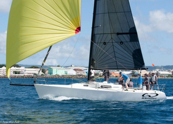J/105 sailing Barbados