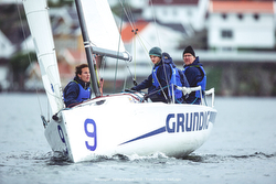 J/70 sailing Norway