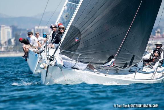 J/120s sailing Helly Hansen NOOD Regatta- San Diego