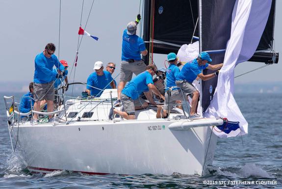 J/122 sailing Block Island Race Week