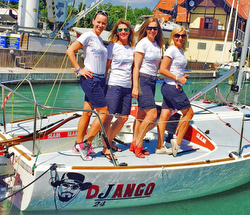 J/24 DJango women's team