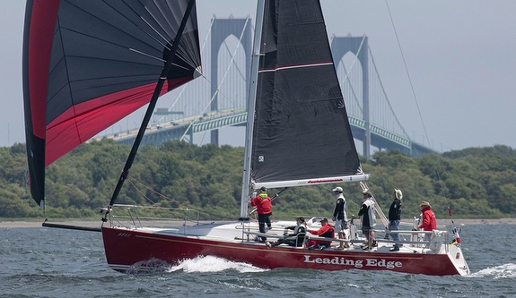J/109 sailing New York regatta