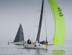 Misty Start To Warsash Spring Series