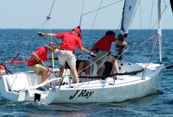 J/70 sailing Screwpile Challenge