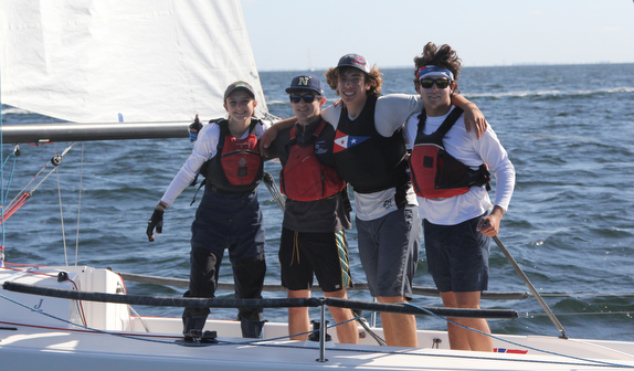 J/70 Youth winners- San Francisco/ Annapolis