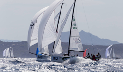 J/70s sailing Worlds at Sardinia