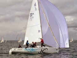 J/80 Interface Concept sailing Lorient, France