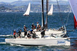 J/111s sailing JFest San Francisco