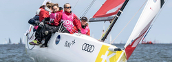 J/70 womens sailing team