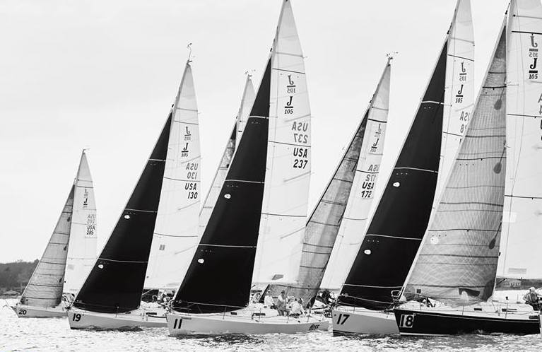 J/105s sailing Midwinters at Forth Worth Texas