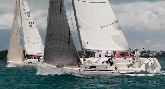 J/105 sailboat one-design racer