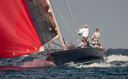 J/44 sailing offshore Lauderdale to Key West Race