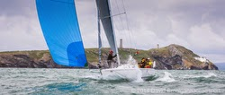 J/105 offshore sailboat- sailing RORC Round Ireland race