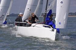 J/70 RAN sailing UK Nationals