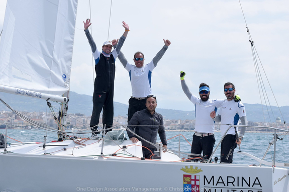 J/24 European winners- La Superba