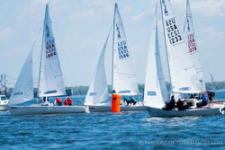 J/22s sailing Annapolis