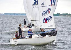 J/24 sailing Pfingst Cup Regatta