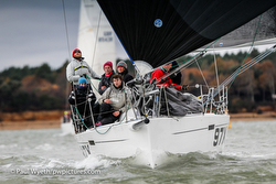 J/97E sailing Hamble Winter Series off England