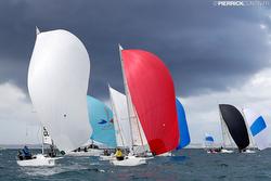 J/80s sailing GPEN in France