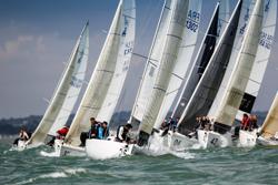 J/80s sailing Worlds