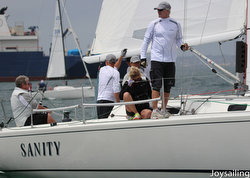 J/105 SANITY sailing Yachting Cup