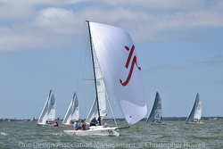 J/70 Savasana sailing off Florida