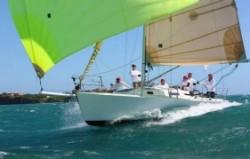 J/105 sailing Caribbean