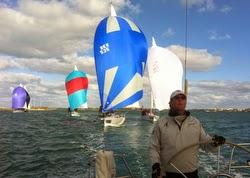 J/105s sailing Bermuda