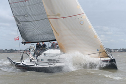 J/111 Jitterbug sailing Warsash series