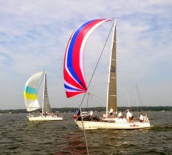 J/35s sailing North Americans off Muskegon, MI