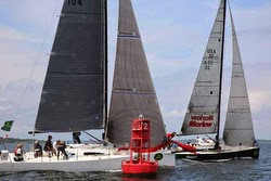 J/111s sailing New York YC Annual Regatta