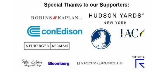 Sponsors- Hudson Yards, Con Edison, Bloomberg