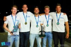 Hungarian J24 crew- European Champions