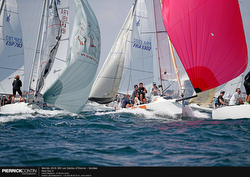 J/80 Worlds- unders spinnaker