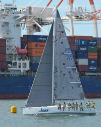 J/122 Joss sailing offshore- Australia