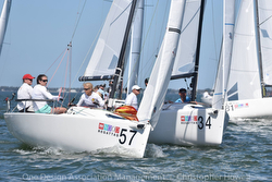 J/70 sailing St Pete NOOD regatta