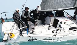 J/88 Deviation- skipper Iris Vogel sailing in Key West