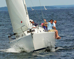 J/32 sailing Penobscot Pursuit regatta