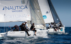 J/80s sailing in Spanish Copa de Espana