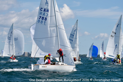 J/22s sailing Worlds at CORK, Kingston, ONT