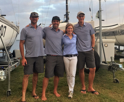 J/70 Vineyard Vines team