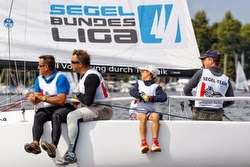 J/70 family sailing German sailing league