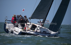 J/88 Blue Flash sailing Spinnaker Cup race