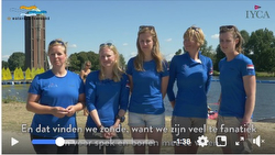 Women's SHE SAILS sailing team- 2nd in Aalsmeer, Netherlands